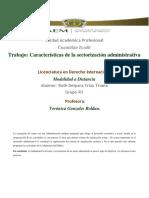 Sectorizacion de La Administraciòn