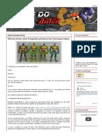 Péssimos brinquedos baseados em Tartarugas Ninjas