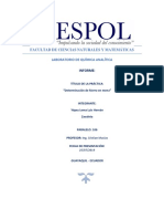 Info 7 QA Determinación de Hierro en Mena  ESPOL