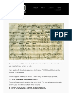 5 Best Web Sites for FREE Sheet Music — Piano Around the World