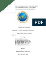 Geoligia y Estructura de La Corteza