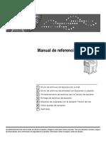 Manual de referencia de escáner Ricoh MP4000