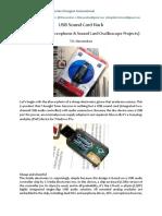 USB Sound Card Hack