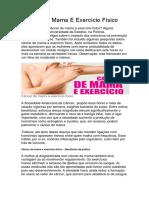 Câncer de Mama E Exercício Físico