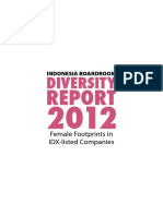 Indonesia Boardroom Diversity Report