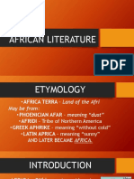 african lit