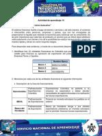 """Evidencia 6 Matriz """"Servicios Bancarios"""""""