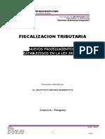 Procedimientos de Fiscalizacion Tributaria. Francisco Mendez Barrientos 1 (1).doc