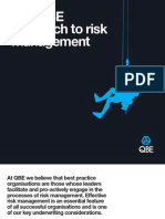 QBE - Approach to Risk Management