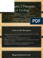 Chapter 2 Principles of Ecology Section 3