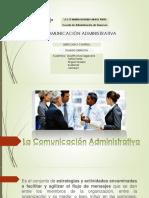 La Comunicación administrativa OBREGON.pptx