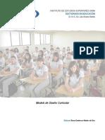 Ensayo Modelos de Diseño Curricular