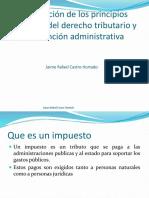 Principios Tributarios y de La Función Administrativa