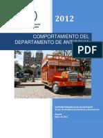 Estudio Economico Antioquia 2012