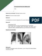 Objetivos educativos en radiografía normal y patológica