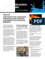 QBE Casualty Risk Management Construction Newsletter October 2010