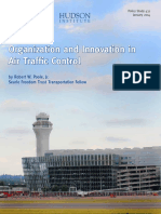 Air Traffic Control Organization Innovation