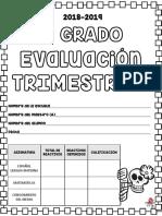 Evaluación trimestral