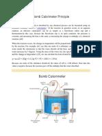 Bomb Calorimeter Principle,formula procedure.docx