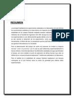 INFORME N°1 - LABORATORIO DE FLUIDOS I