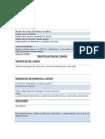 Formato Descriptor de Cargo