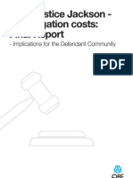 Technical Claims Brief - SE - Lord Justice Jackson Civil Litigation Costs - March 2010
