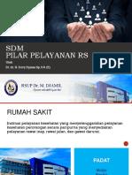 SDM Pilar Pelayanan RS