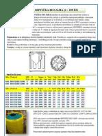 Septicka bio-jama IMHOFF -ISEA - katalog