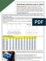 Trokomorna septicka jama ISEA - katalog