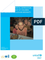 The Impact of Parental Deprivation on the Development of Children