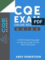 CQE Academy Free Study Resource_B