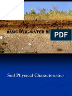 Basic Soil and Water Relationship