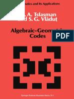 M. A. Tsfasman, S. G. Vlăduţ auth. Algebraic-Geometric Codes.pdf