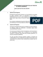Reglamento Del Programa de Descuentos Promerica