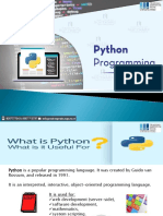 Python PDF Best Python Training Programming