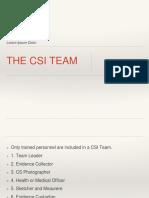CSI-Team