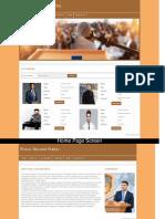 Public Speaker Portal Screens