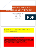 CAN INDIA BECOME A 5 TRILLION ECONOMY BY.pptx