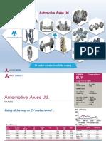 Automotive Axles Ltd