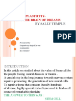 Stem Cell Plasticity