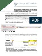 Creer Des Annotations Sur Un Document PDF