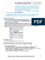 Modifier document pdf