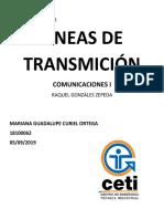 Práctica 1 Comunicaciones Mariana Curiel 18100062
