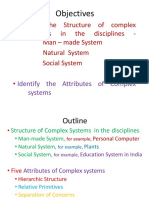 Day 4 Five Attributes of a Complex System