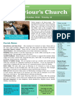 st saviours newsletter - 20 oct 2019 -ot 29