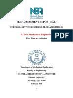 SAR Mechanical Engineering