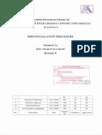 Horizontal Directional Drilling Installation Procedure