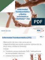 Enfermedad Tromboembolica y Medias Antiembolicas Comprinet Pro 2018_2