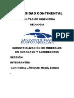 industrializacion minerales