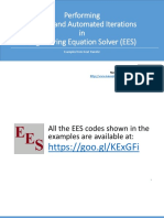 EES Iterations